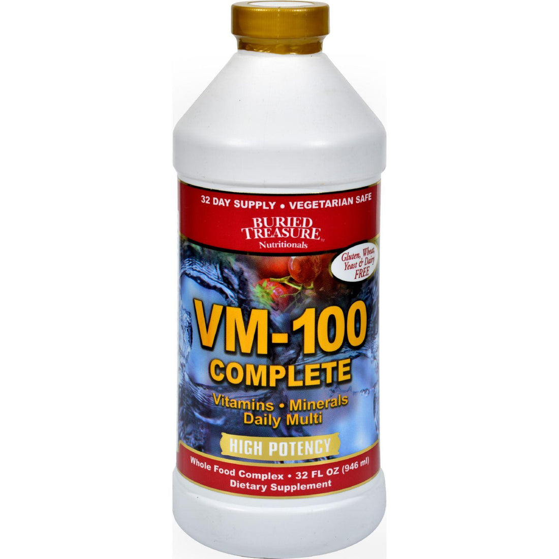 Mother Mantis: Buried Treasure Vm-100 Complete - 32 Fl Oz Buried Treasure