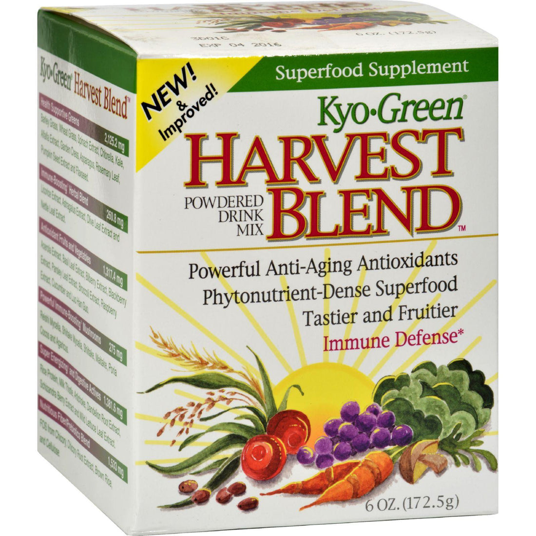 Mother Mantis: Kyolic Green Harvest Blend - 6 Oz Kyolic