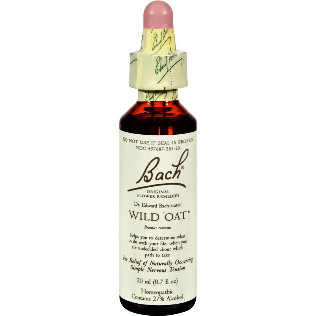 Mother Mantis: Bach Flower Remedies Essence Wild Oat - 0.7 Fl Oz Bach
