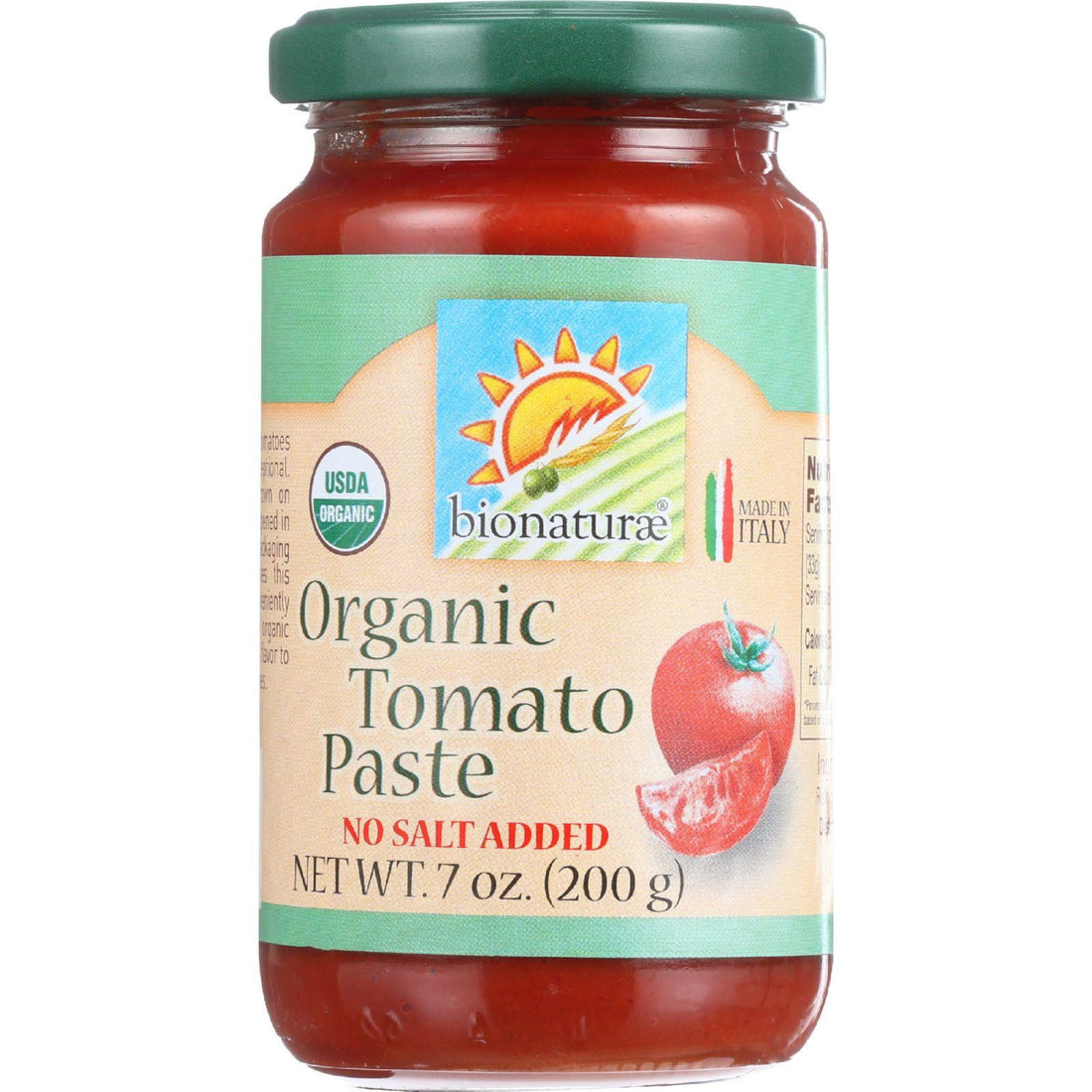Mother Mantis: Bionaturae Tomato Paste - Organic - 7 Oz - Case Of 12 Bionaturae