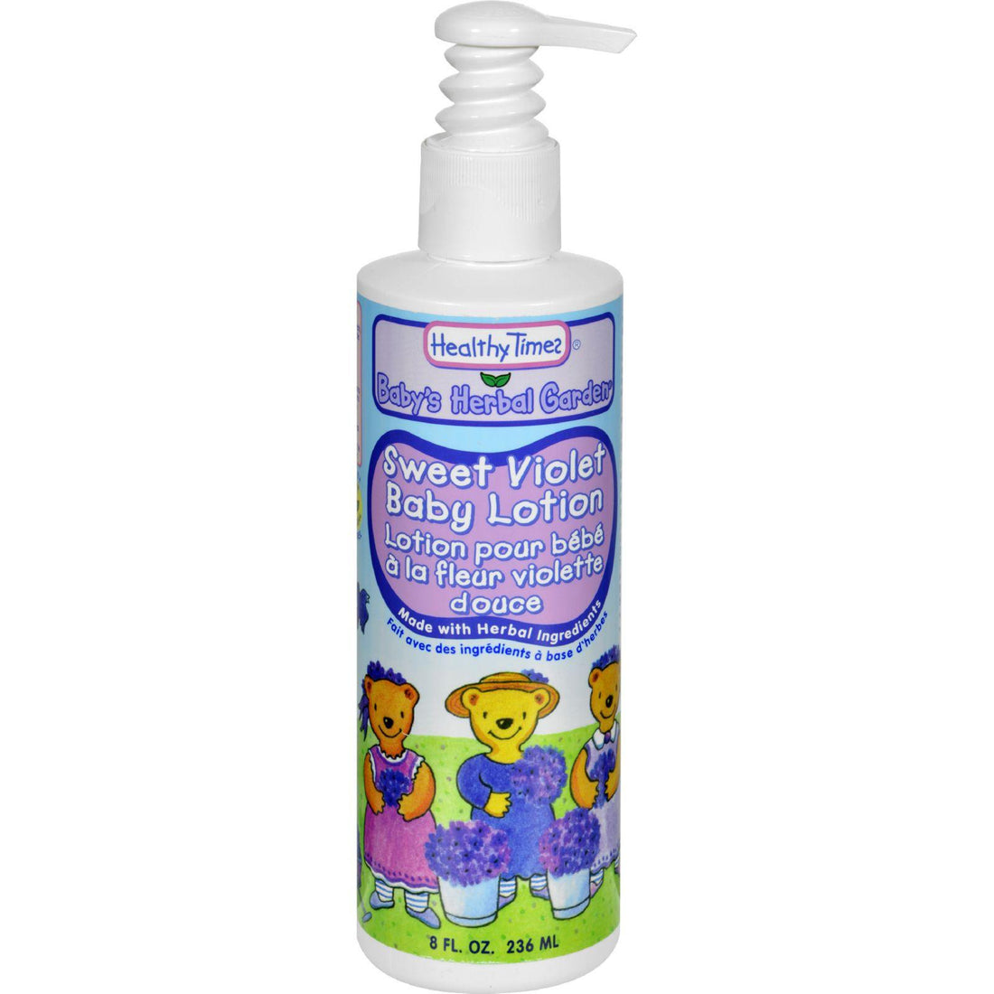 Mother Mantis: Healthy Times Baby Lotion Sweet Violet - 8 Fl Oz Healthy Times