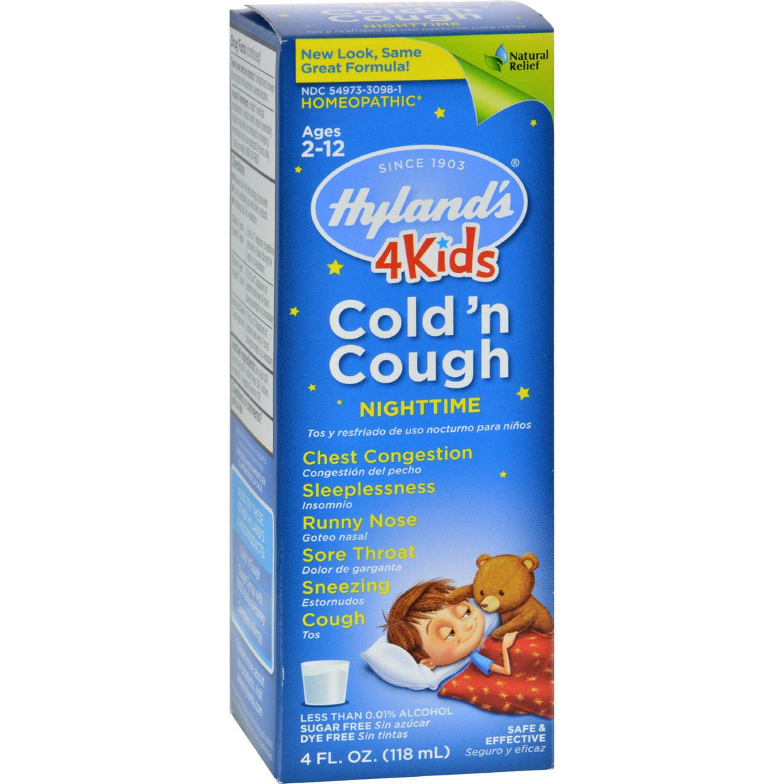 Mother Mantis: Hyland's Night Time Cold N Cough 4 Kids - 4 Fl Oz Hyland's