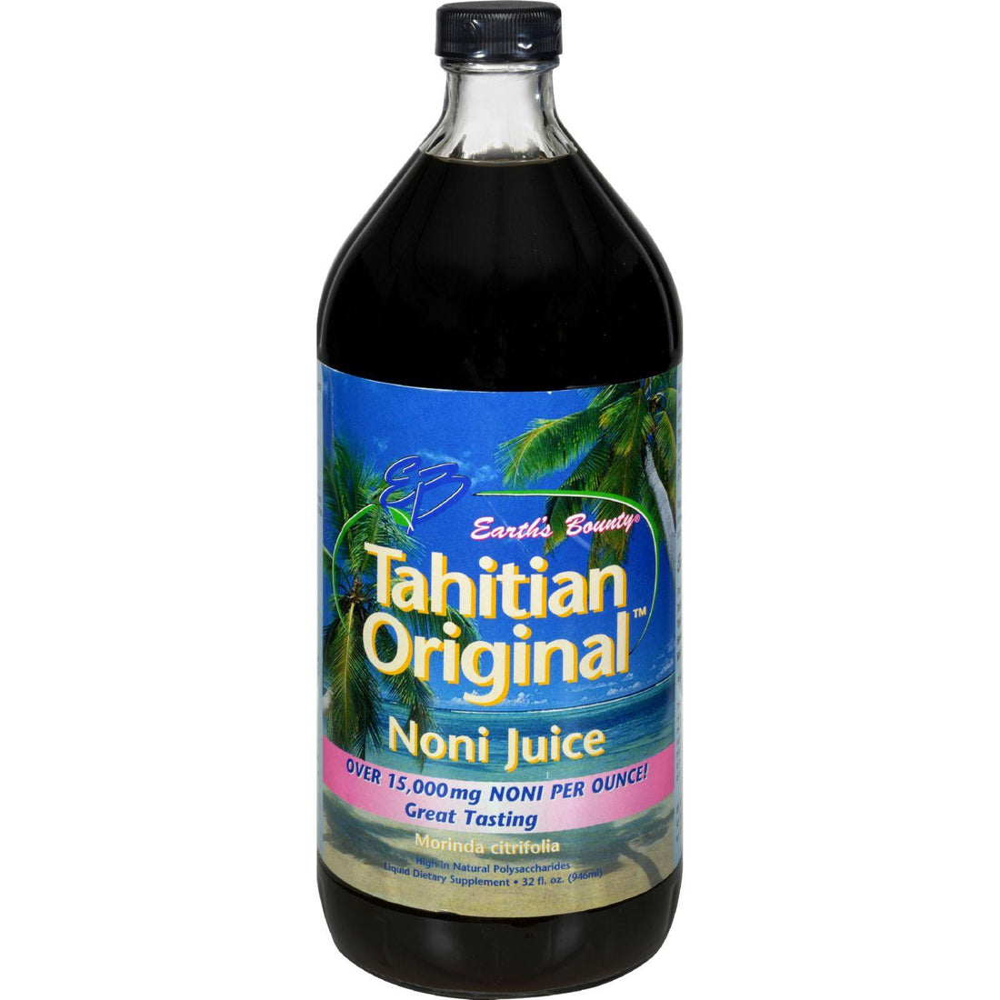 Mother Mantis: Earth's Bounty Tahitian Original Noni Juice - 32 Fl Oz Earth's Bounty