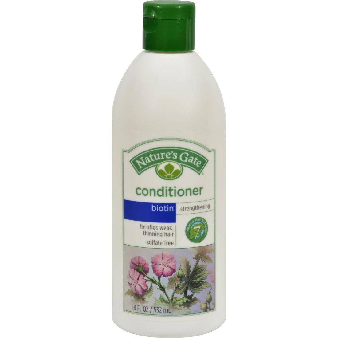 Mother Mantis: Nature's Gate Biotin Biotin + Bamboo Enriching Conditioner - 18 Fl Oz Nature's Gate