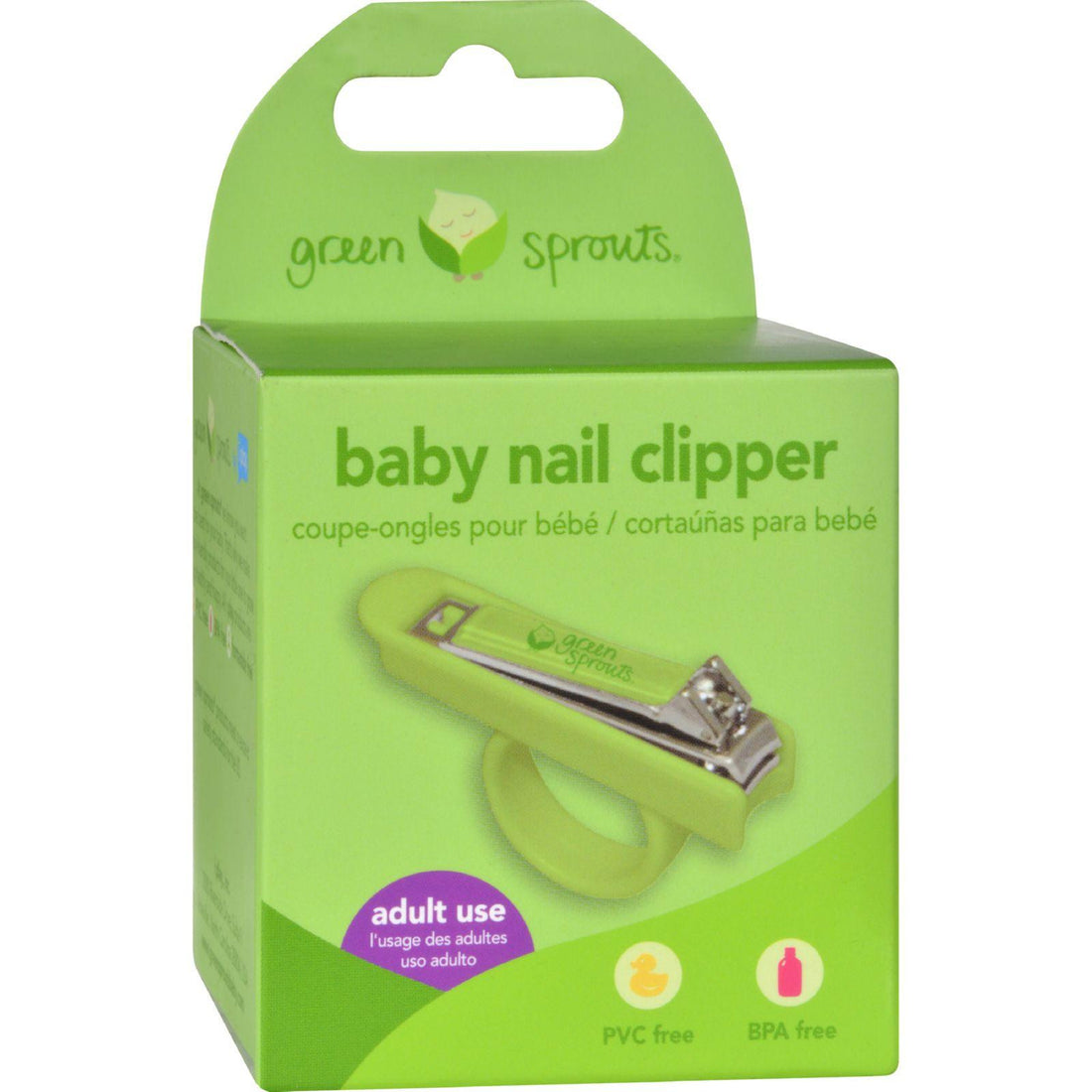 Mother Mantis: Green Sprouts Nail Clippers Green Sprouts