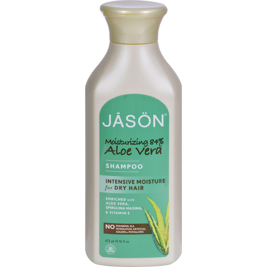 Mother Mantis: Jason Pure Natural Shampoo Aloe Vera For Dry Hair - 16 Fl Oz Jason Natural Products