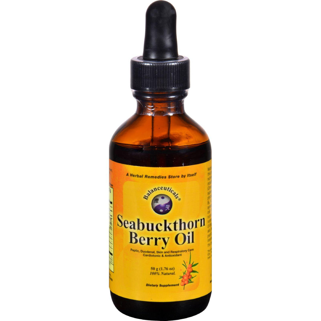 Mother Mantis: Balanceuticals Seabuckthorn Berry Oil - 1.76 Fl Oz Balanceuticals