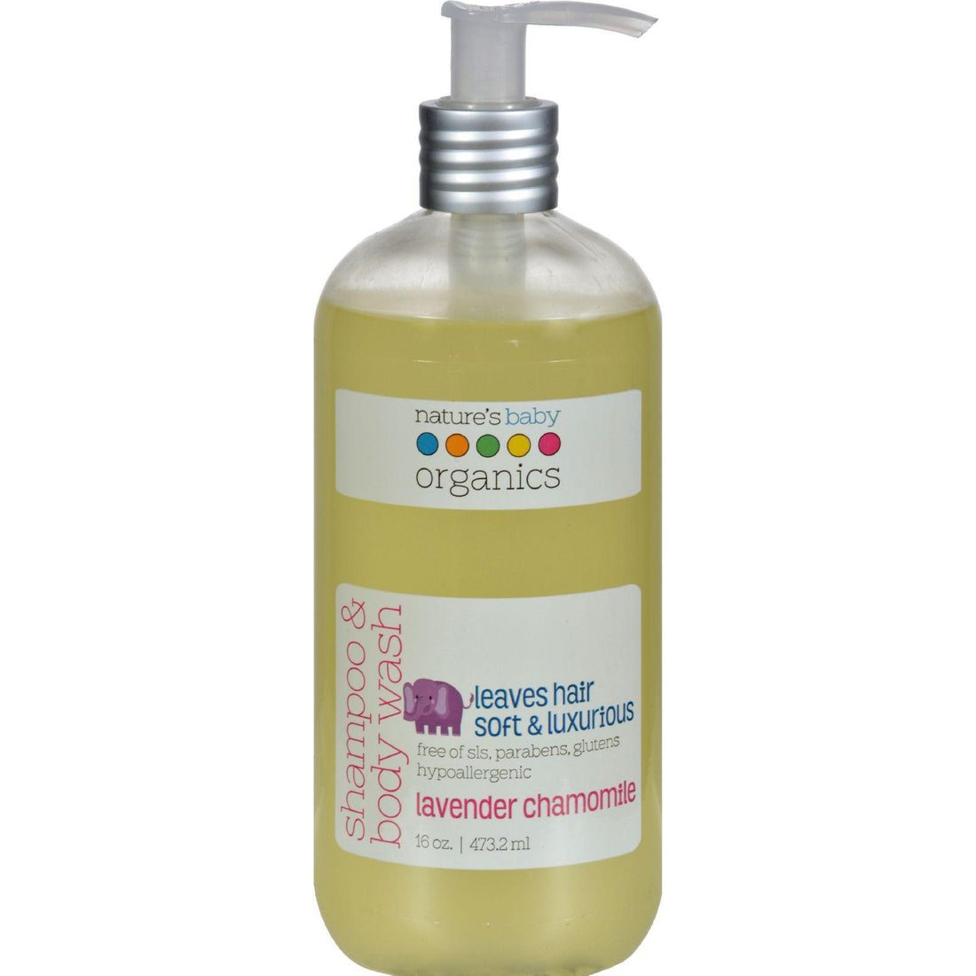 Mother Mantis: Nature's Baby Organics Shampoo And Body Wash Lavender Chamomile - 16 Fl Oz Nature's Baby Organics