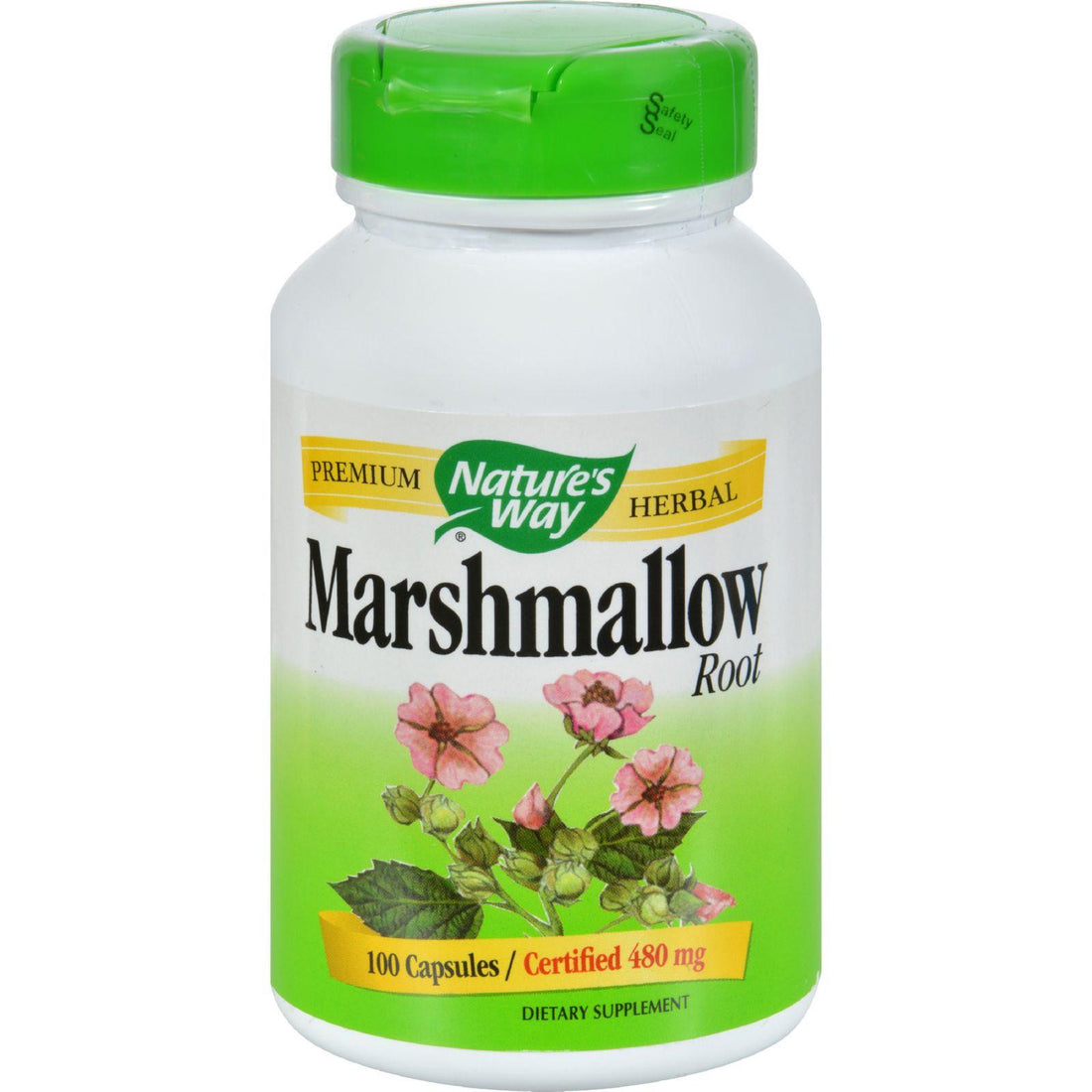 Mother Mantis: Nature's Way Marshmallow Root - 100 Capsules Nature's Way