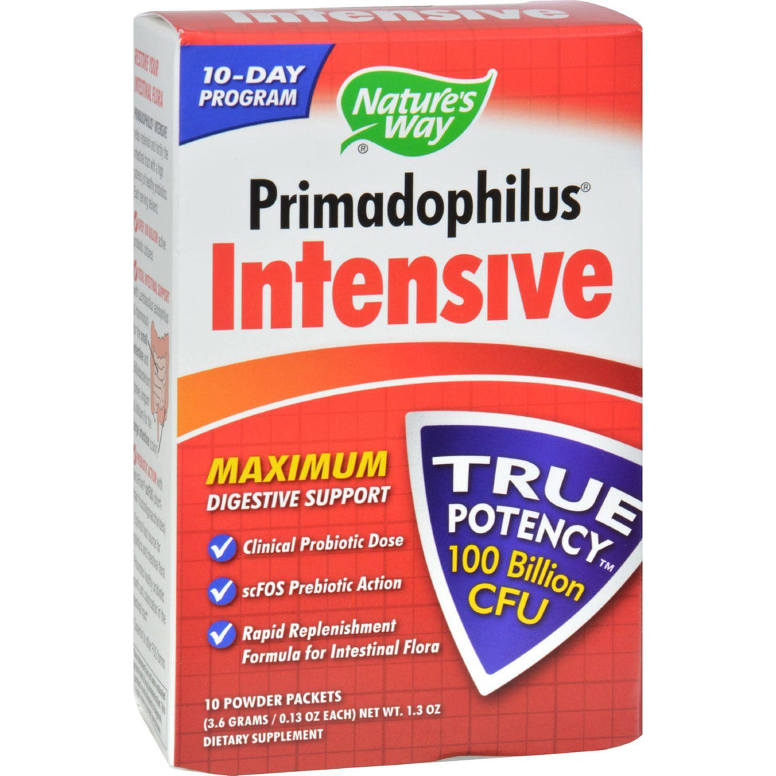 Mother Mantis: Nature's Way Primadophilus Intensive - 10 Packets Nature's Way