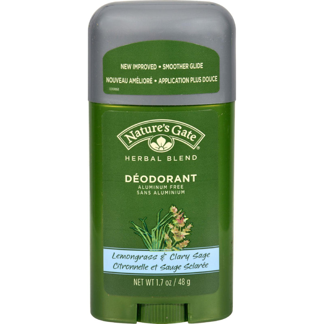 Mother Mantis: Nature's Gate Organics Deodorant Stick Lemongrass - 1.7 Oz Nature's Gate