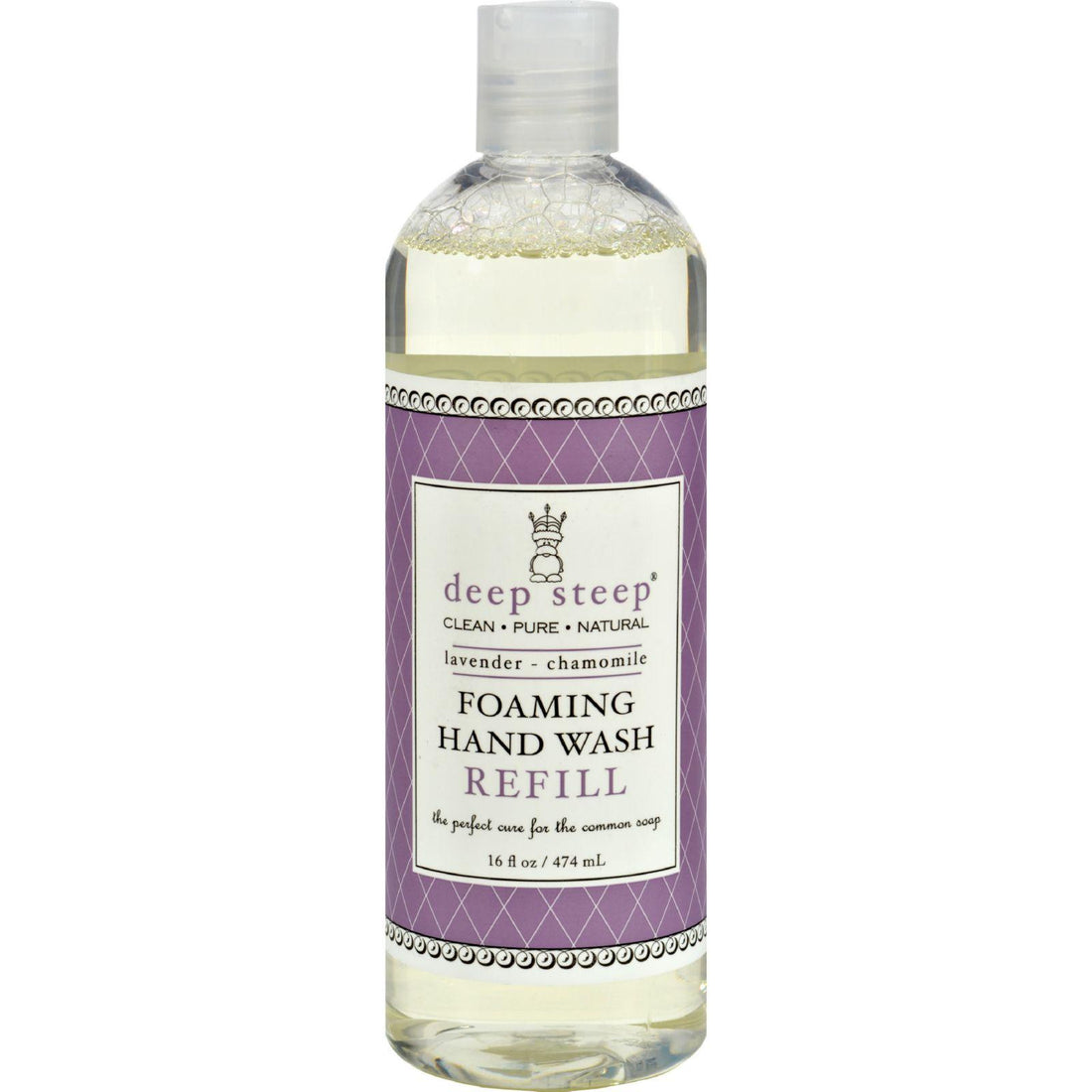 Mother Mantis: Deep Steep Foaming Hand Wash Refill - Lavender Chamomile - 16 Oz Deep Steep