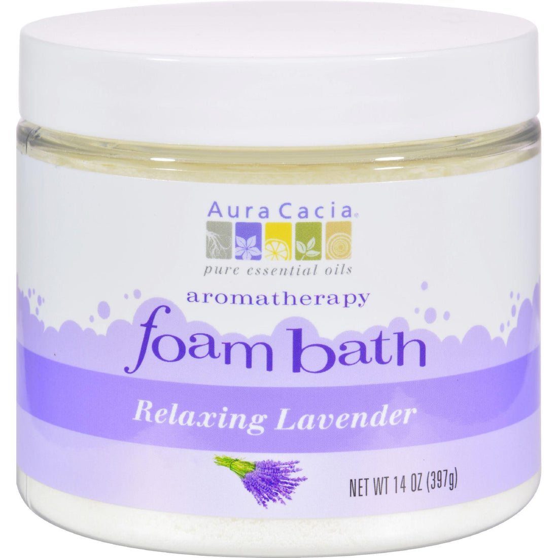 Mother Mantis: Aura Cacia Foam Bath Relaxing Lavender - 14 Oz Aura Cacia