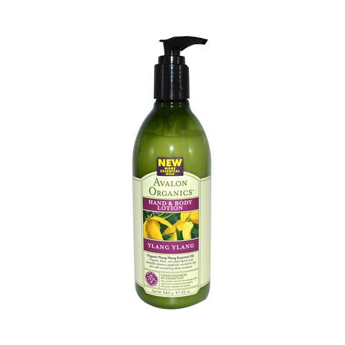 Mother Mantis: Avalon Organics Hand And Body Lotion Ylang Ylang - 12 Fl Oz Avalon