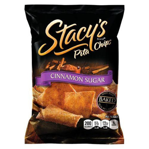 Stacey's Pita Chips - Cinnamon Sugar - 1.5 Oz - Case Of 24 Stacy's Pita Chips