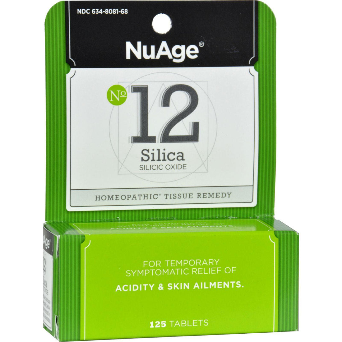 Mother Mantis: Hyland's Nuage No. 12 Silica - 125 Tablets Hyland's