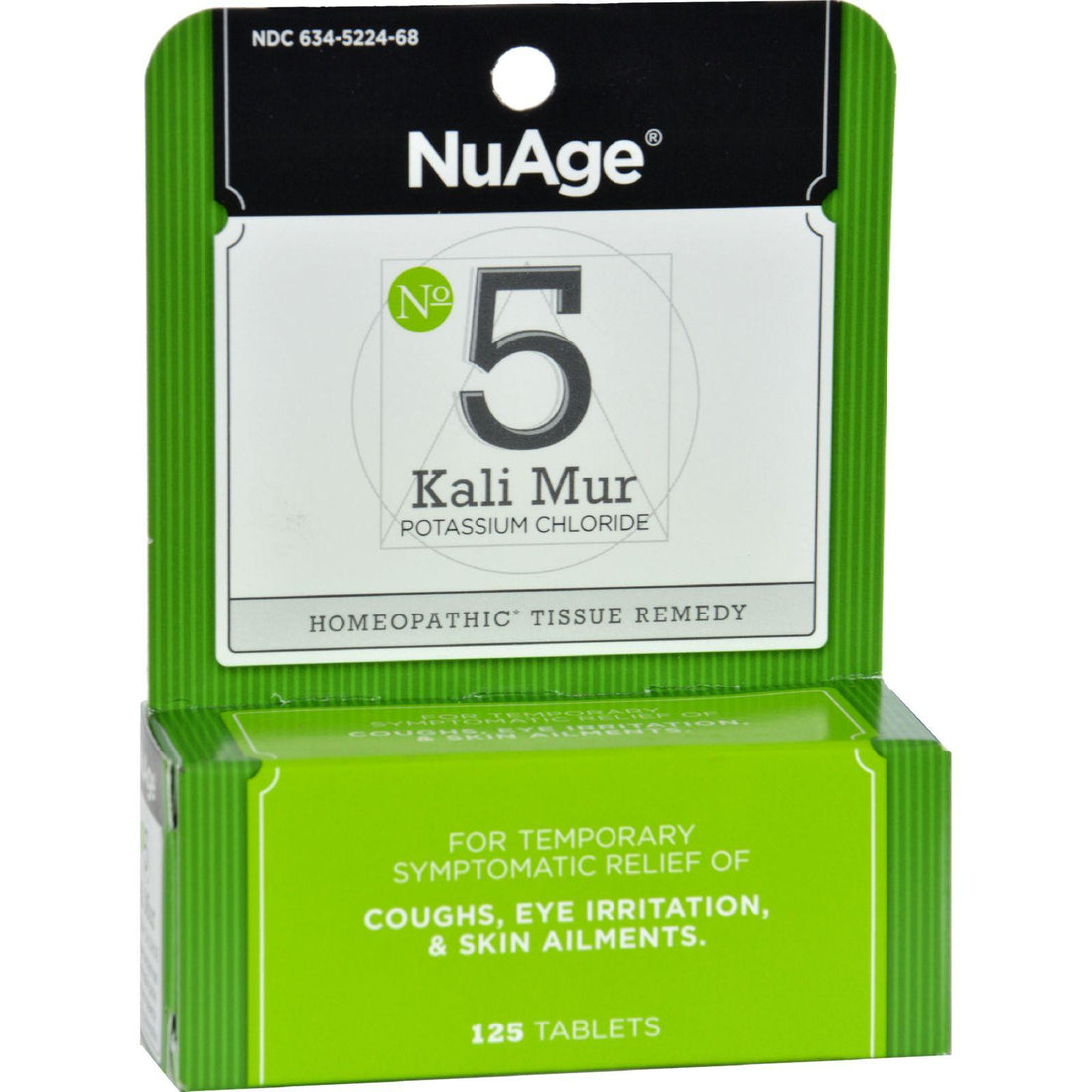 Mother Mantis: Hyland's Nuage No 5 Kali Mur - 125 Tablets Hyland's