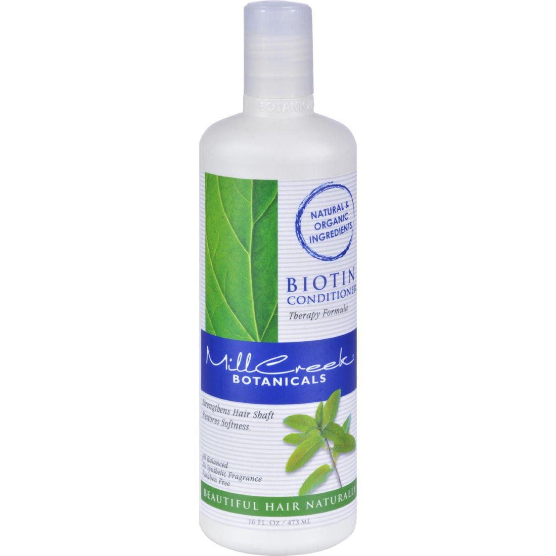 Mother Mantis: Mill Creek Biotin Conditioner - 16 Fl Oz Mill Creek