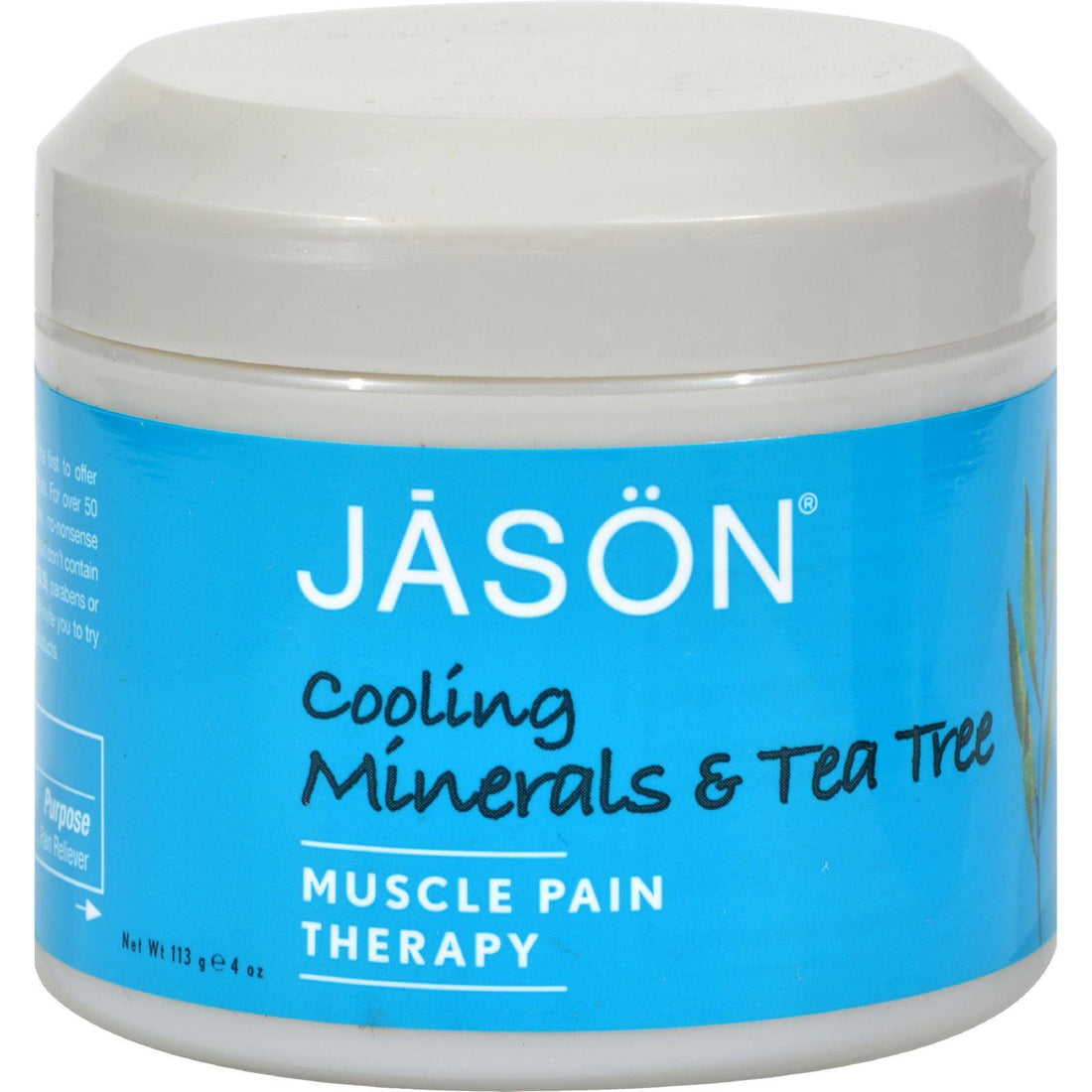 Mother Mantis: Jason Pure Natural Muscle Pain Therapy Cooling Minerals And Tea Tree - 4 Oz Jason Natural Products