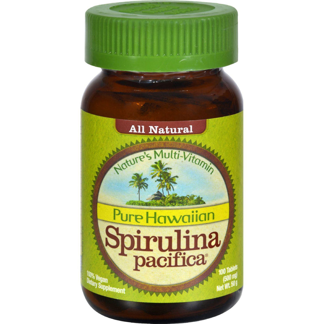 Mother Mantis: Nutrex Hawaii Pure Hawaiian Spirulina Pacifica - 500 Mg - 100 Tablets Nutrex Hawaii