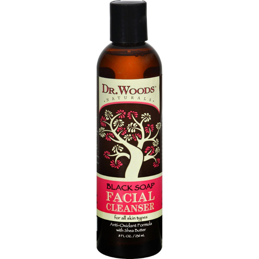 Mother Mantis: Dr. Woods Facial Cleanser Black Soap And Shea Butter - 8 Fl Oz Dr. Woods