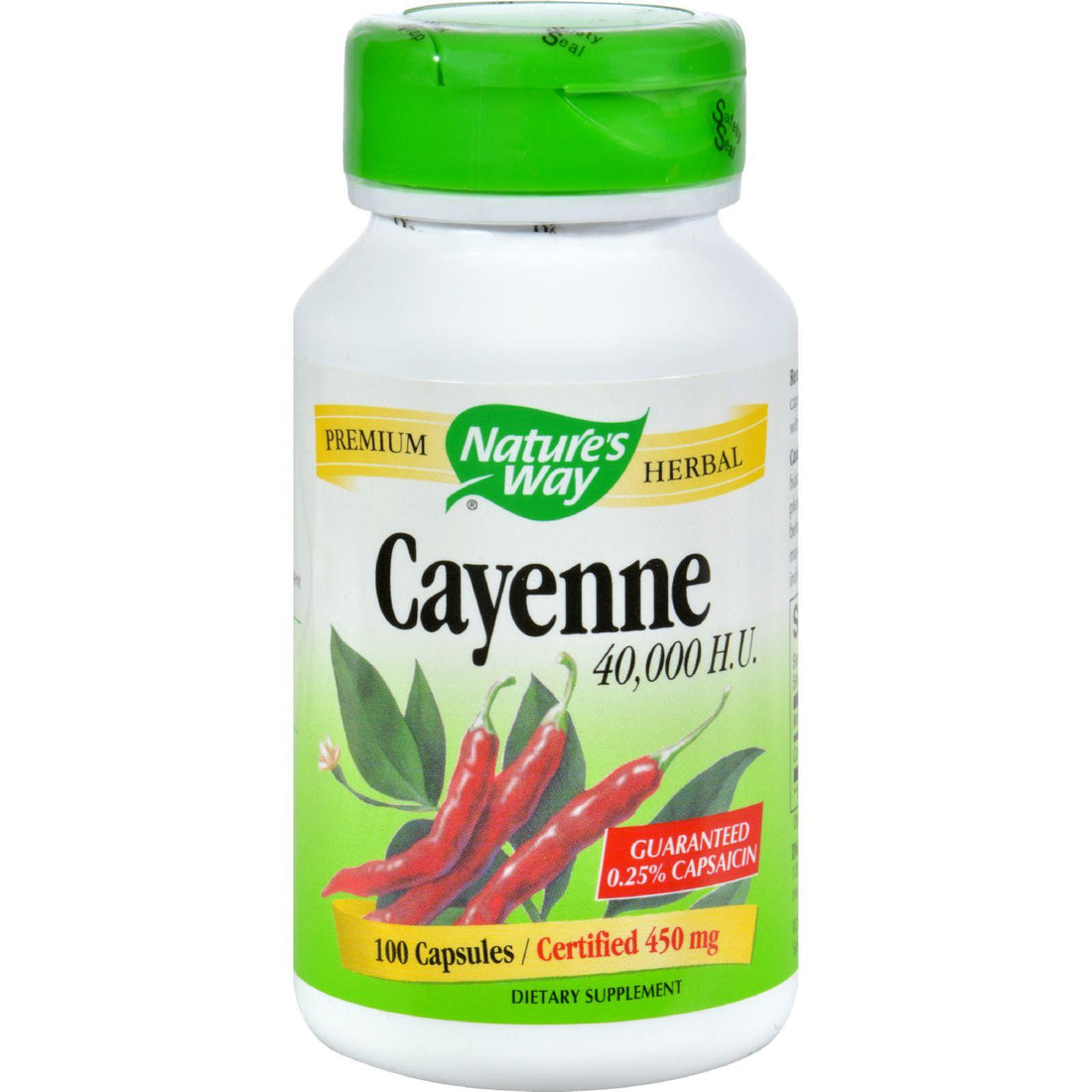 Mother Mantis: Nature's Way Cayenne And Pepper - 450 Mg - 100 Capsules Nature's Way