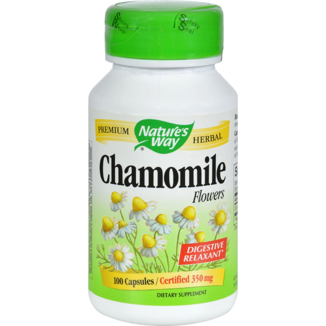 Mother Mantis: Nature's Way Chamomile Flowers - 100 Capsules Nature's Way