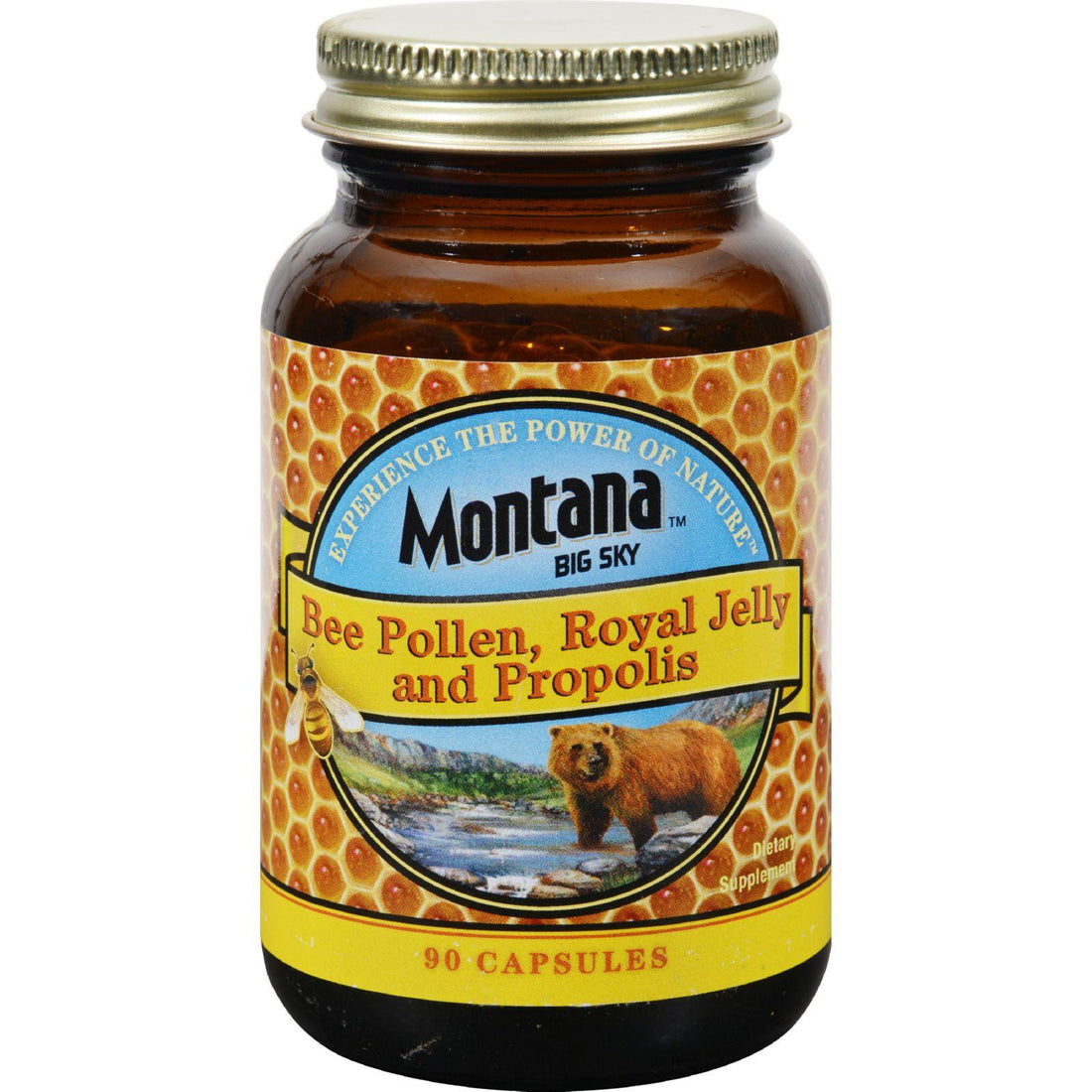 Mother Mantis: Montana Bee Pollen Royal Jelly And Propolis - 90 Capsules Montana Big Sky