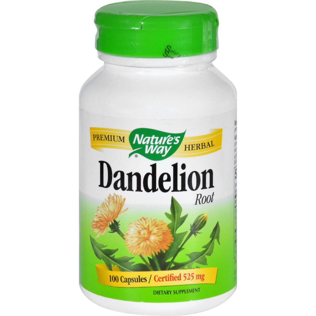 Mother Mantis: Nature's Way Dandelion Root - 100 Capsules Nature's Way
