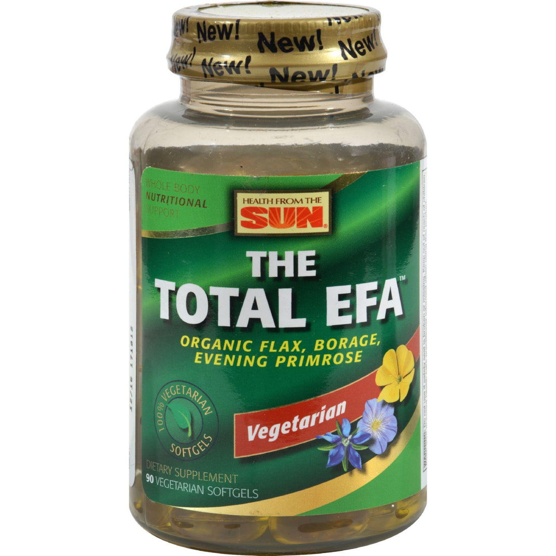 Mother Mantis: Health From The Sun The Total Efa - 90 Vegetarian Softgels Health From The Sun
