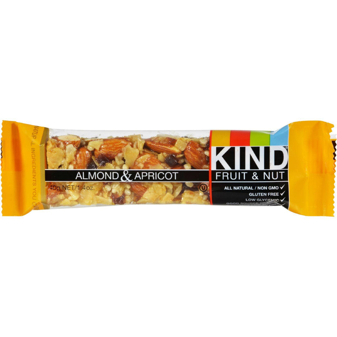 Mother Mantis: Kind Bar - Almond And Apricot - Case Of 12 - 1.4 Oz Kind