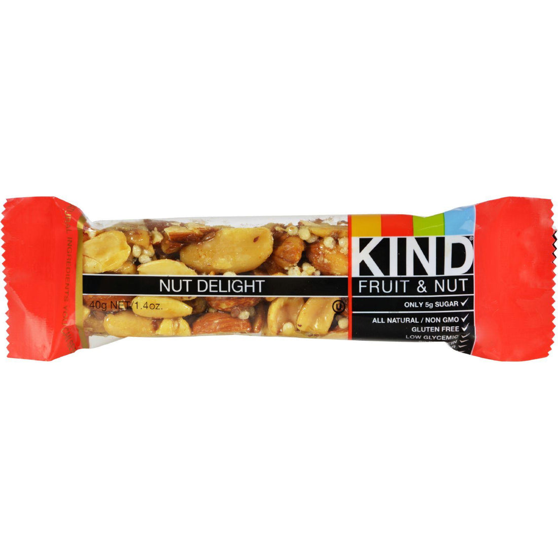 Mother Mantis: Kind Bar - Nut Delight - Case Of 12 - 1.4 Oz Kind