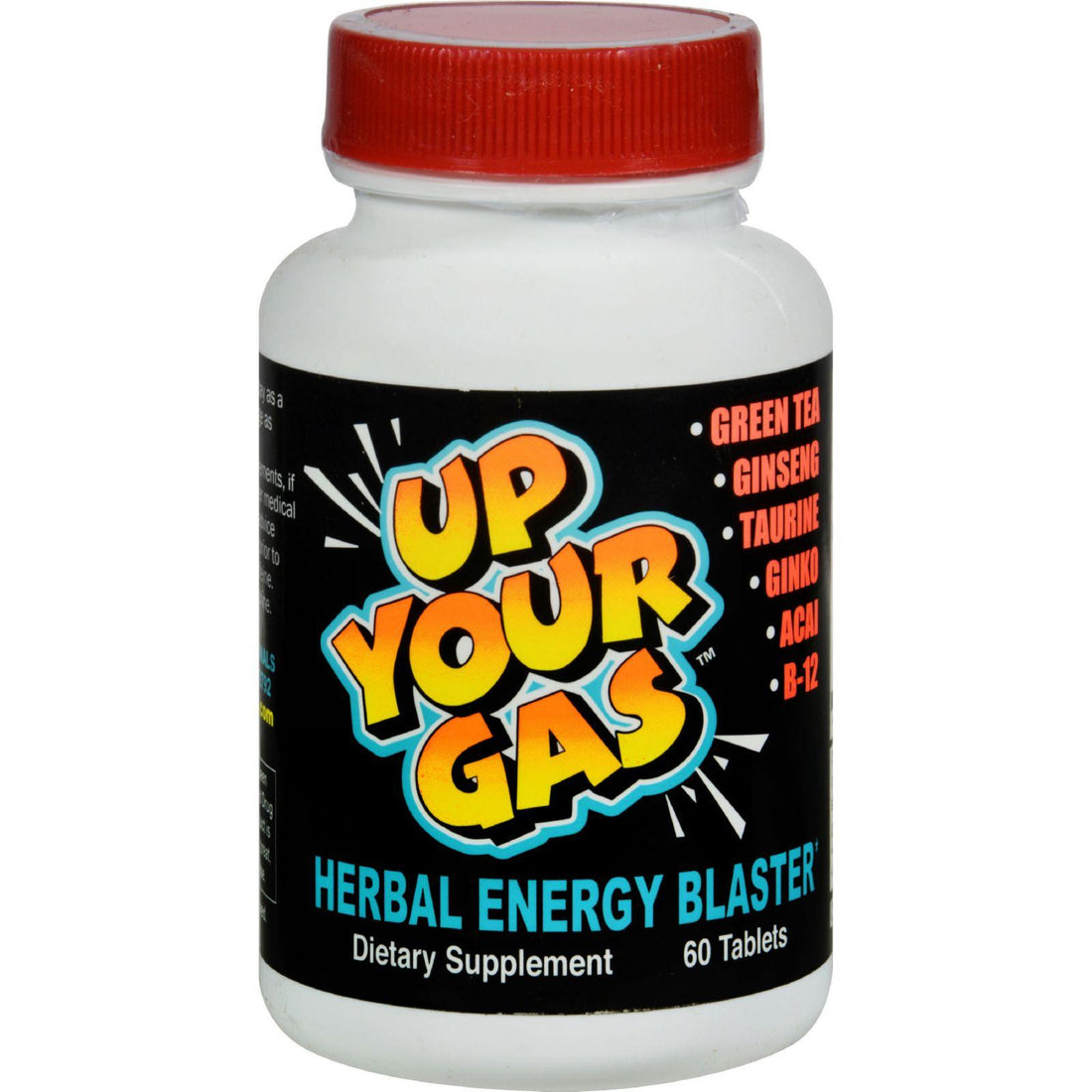 Mother Mantis: House Of David Up Your Gas Energy Blaster - 60 Tablets Hot Stuff