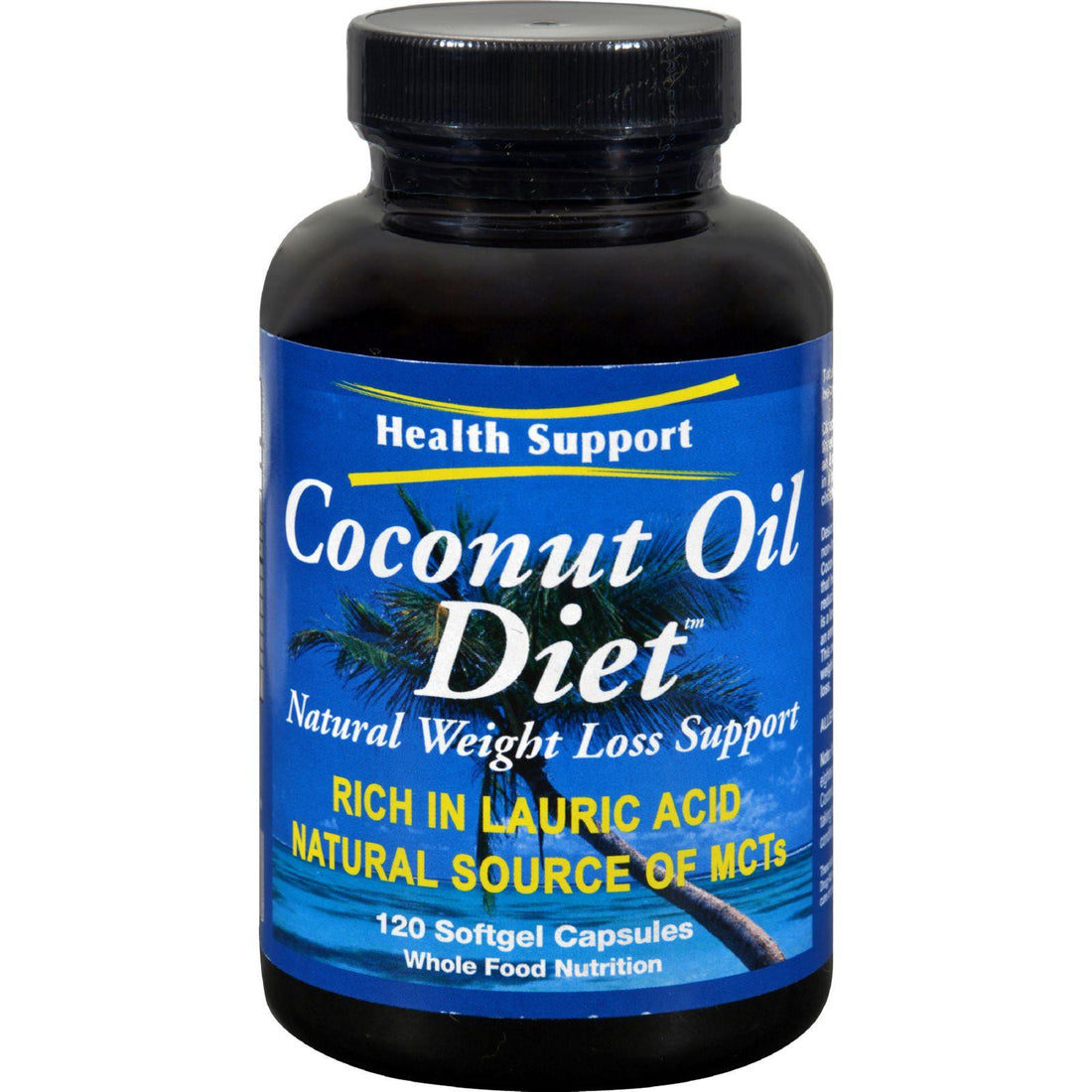 Mother Mantis: Health Support Coconut Oil Diet - 120 Softgels Health Support