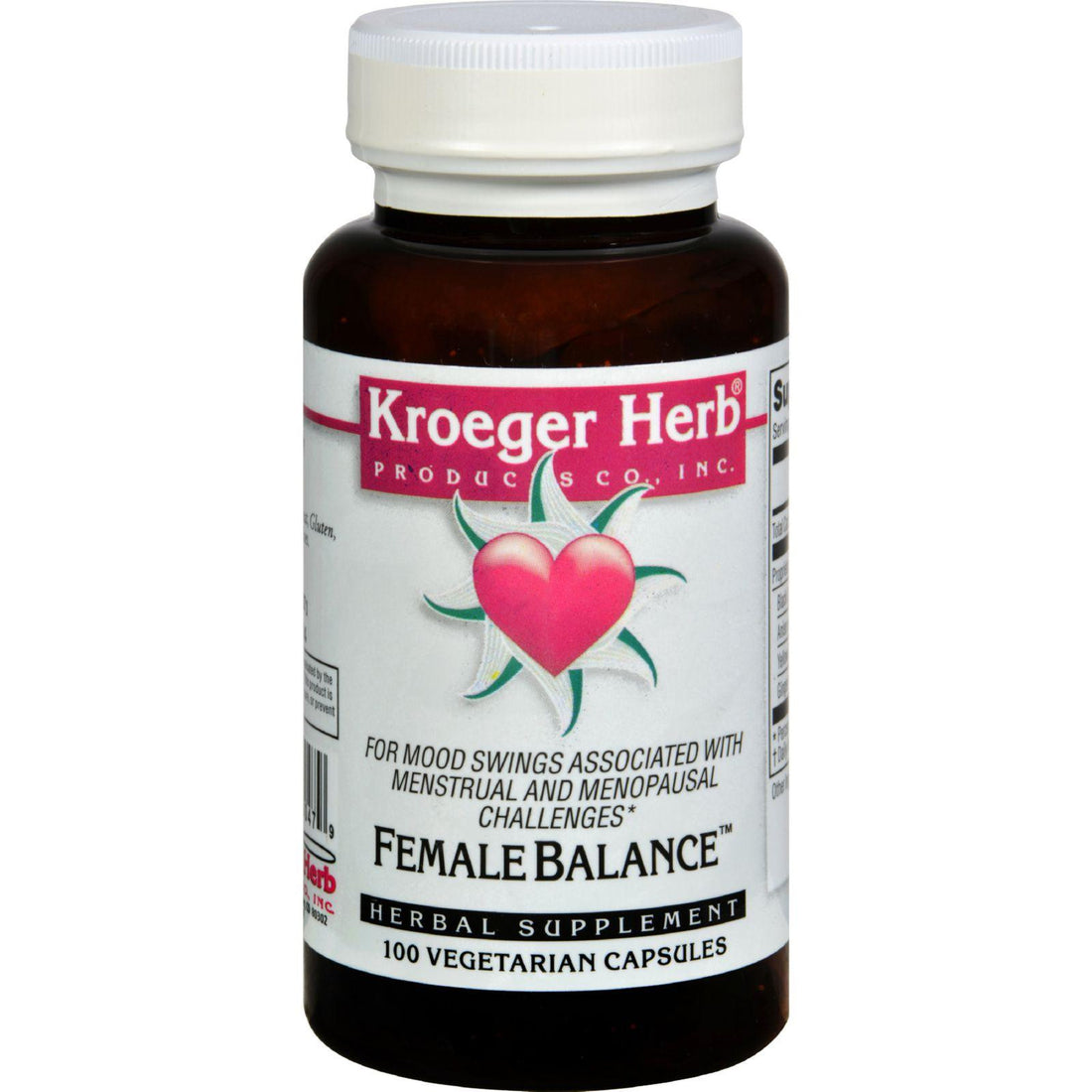 Mother Mantis: Kroeger Herb Female Balance - 100 Capsules Kroeger Herb