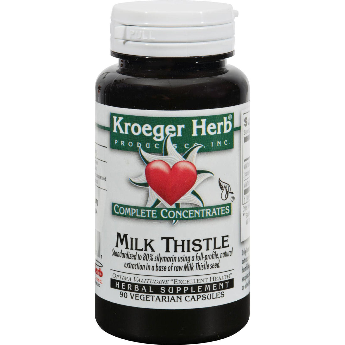 Mother Mantis: Kroeger Herb Milk Thistle - 90 Vegetarian Capsules Kroeger Herb