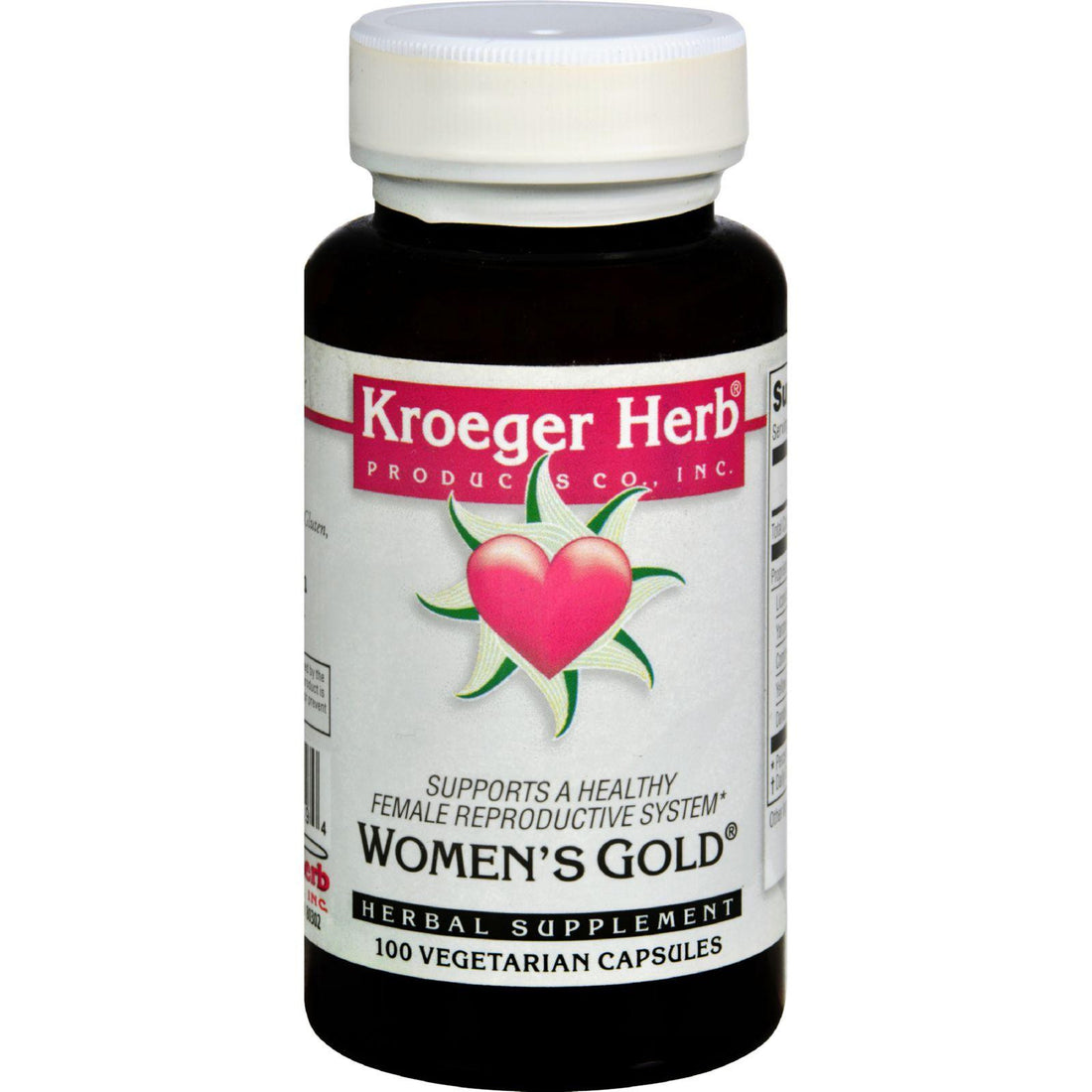 Mother Mantis: Kroeger Herb Women's Gold - 100 Capsules Kroeger Herb