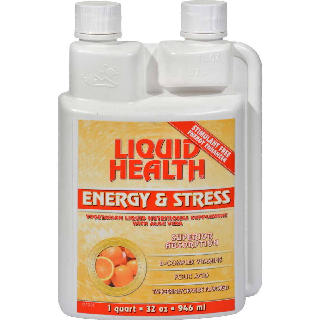 Mother Mantis: Liquid Health Energy And Stress Tangerine Orange - 32 Fl Oz Liquid Health Products