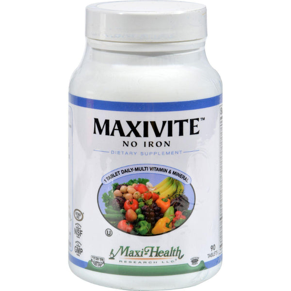 Mother Mantis: Max Health Maxivite One A Day - 90 Tablets Maxi Health Kosher Vitamins