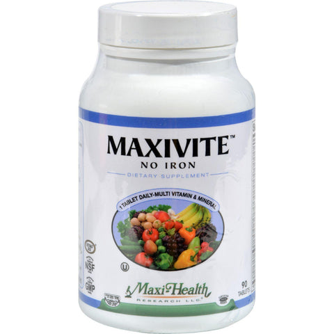 Max Health Maxivite One A Day - 90 Tablets Maxi Health Kosher Vitamins