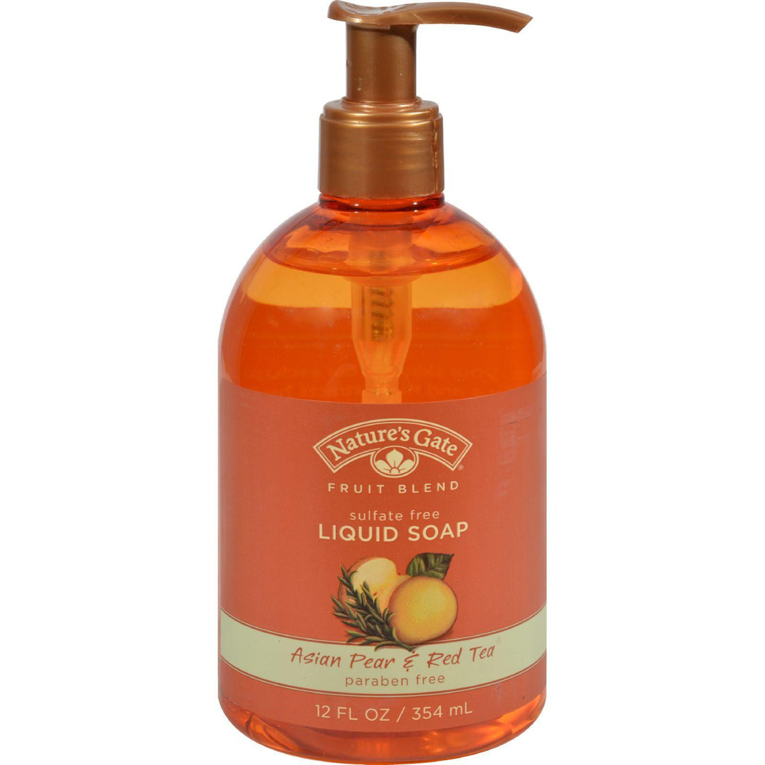 Mother Mantis: Nature's Gate Organics Liquid Soap Asian Pear And Red Tea - 12 Fl Oz Nature's Gate