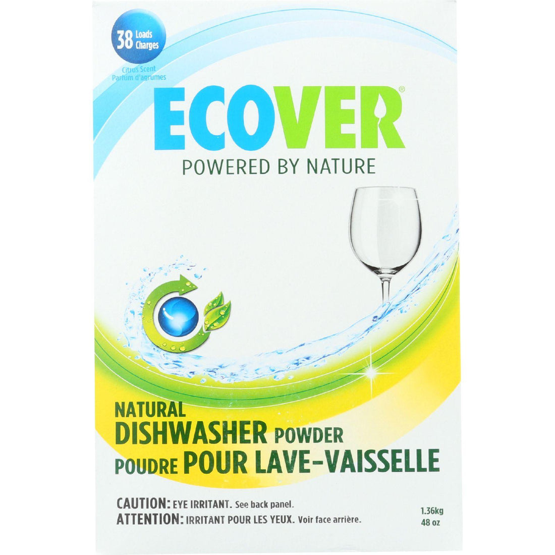 Mother Mantis: Ecover Automatic Dishwasher Powder - Citrus - 48 Oz - Case Of 8 Ecover