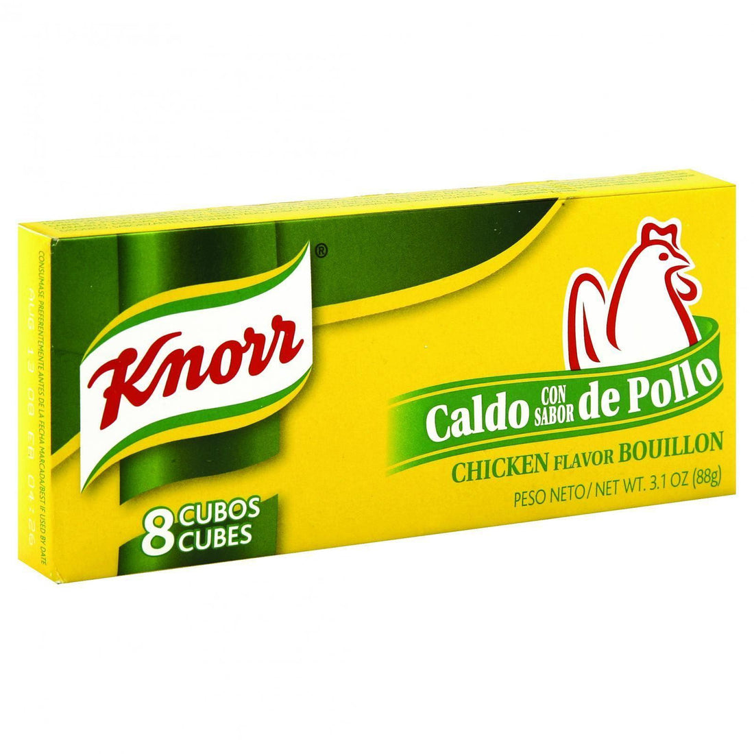 Mother Mantis: Knorr Bouillon Cubes - Chicken Flavor - 8 Count - 3 Oz - Case Of 24 Knorr
