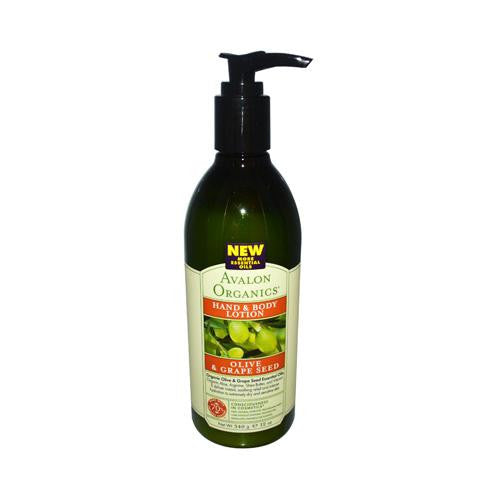 Mother Mantis: Avalon Organics Hand And Body Lotion Olive And Grape Seed Fragrance Free - 12 Fl Oz Avalon