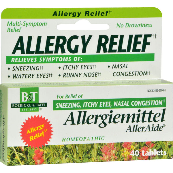 Mother Mantis: Boericke And Tafel Allergiemittel Alleraide - 40 Tablets Boericke And Tafel