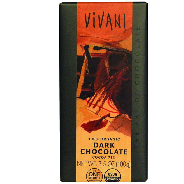 Mother Mantis: 100% Organic Dark Chocolate Bar Vivani