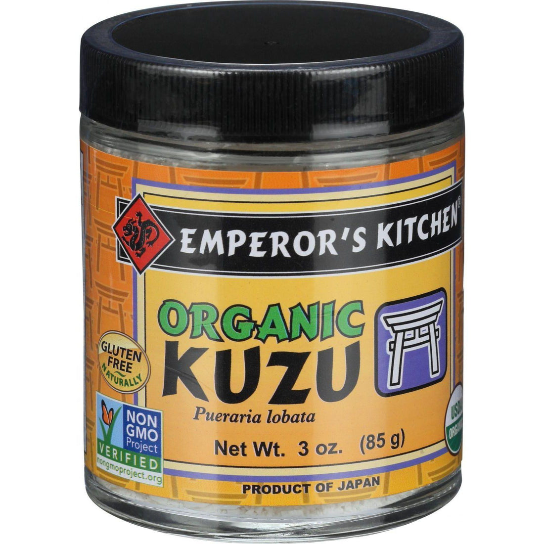 Mother Mantis: Emperor's Kitchen Organic Authentic Kuzu Powder - 3 Oz Emperor's Kitchen