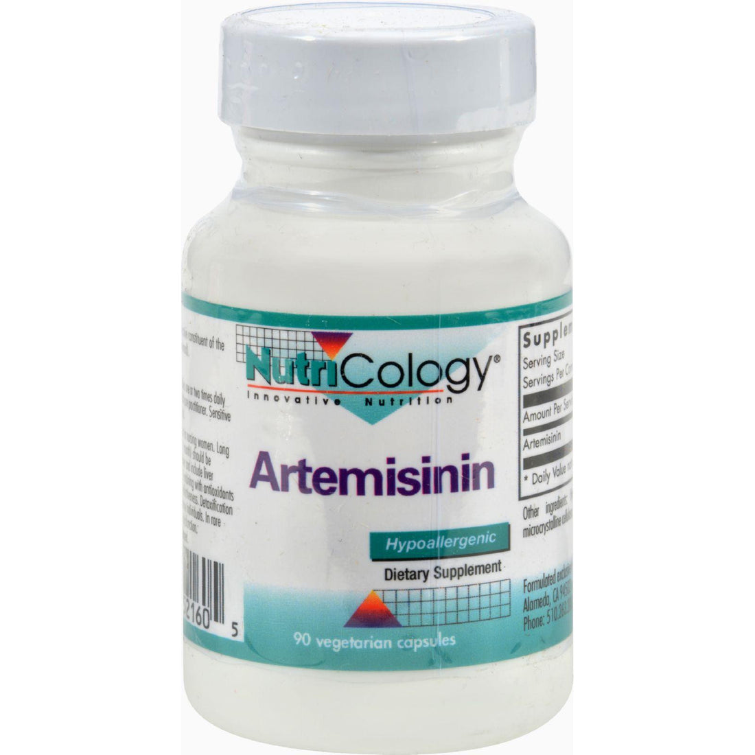 Mother Mantis: Nutricology Artemisinin - 100 Mg - 90 Capsules Nutricology