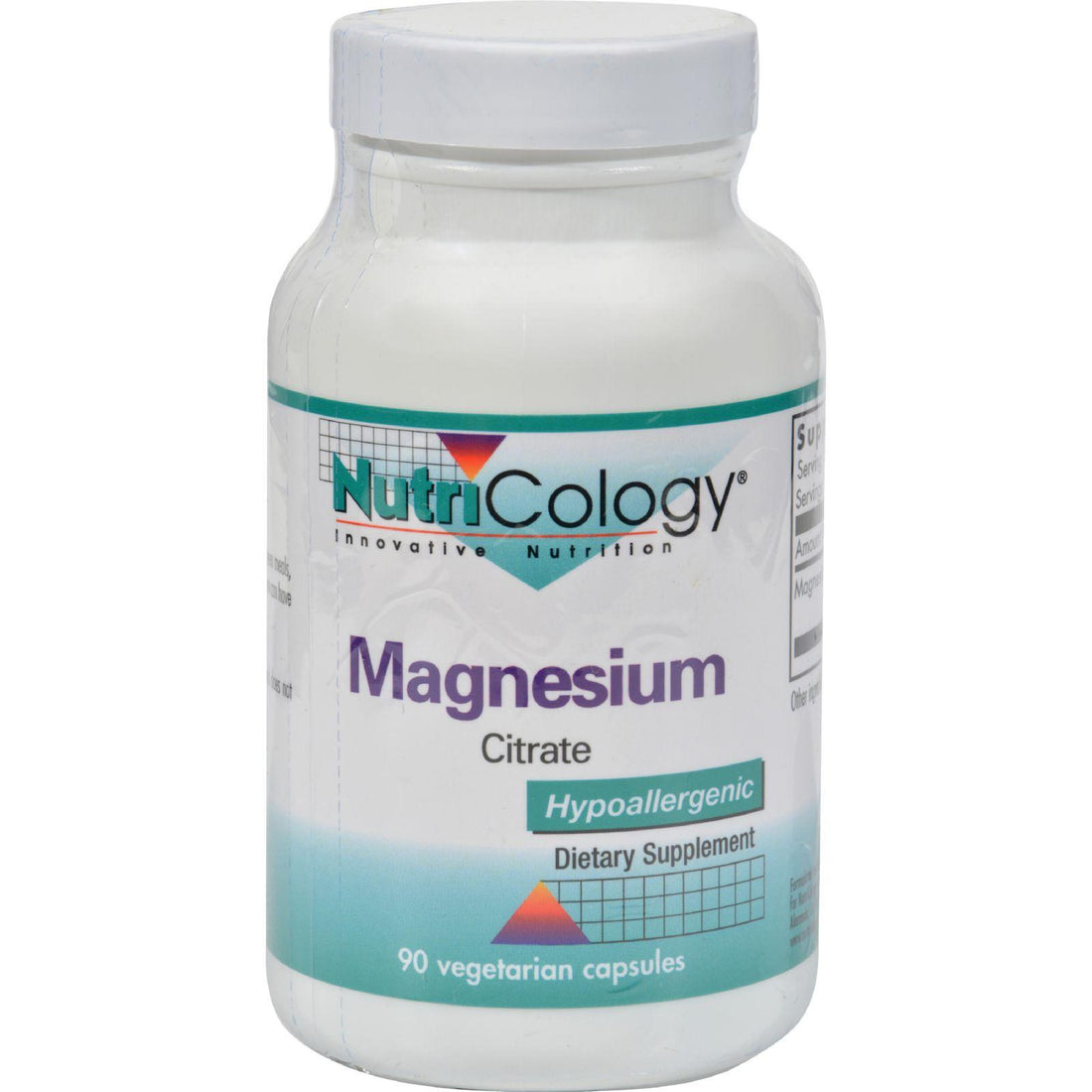 Mother Mantis: Nutricology Magnesium Citrate - 170 Mg - 90 Capsules Nutricology