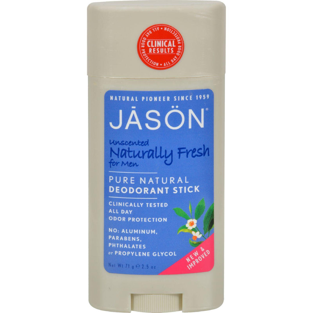 Mother Mantis: Jason Deodorant Stick For Men Naturally Fresh - 2.5 Oz Jason Natural Products